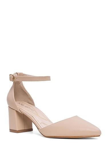 Sole Sisters Topuklu Ayakkabı Bej - Deları Ten
